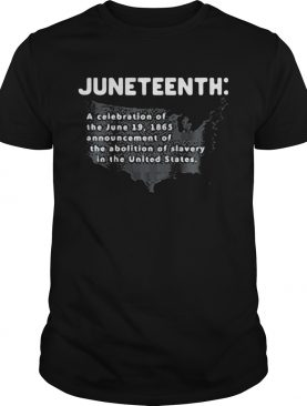 Juneteenth a celebration of the june 19 1865 announcement of the abolition of slavery in the united