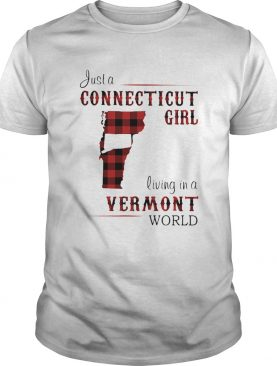 Just a connecticut girl living in a vermont world shirt