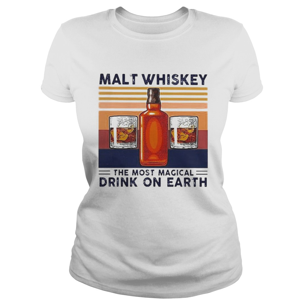 Malt Whiskey The Most Magical Drink On Earth Vintage Classic Ladies