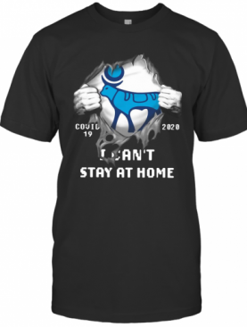 Novo Nordisk Inside Me Covid 19 2020 I Can'T Stay At Home T-Shirt