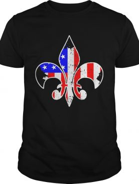 Scouting american flag independence day shirt