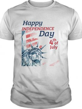 Statue of liberty happy independence day 4th of july shirt