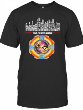 Thank You For The Memories Electric Light Orchestra T-Shirt