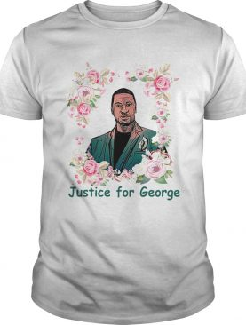 Top Justice For George Floyd Floral I Cant Breathe shirt