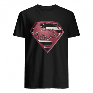 University Of Arkansas Hog Superman  Classic Men's T-shirt