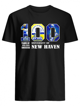 University Of New Haven 100 Year Of 1920 2020 shirt