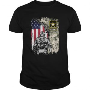 Usarmy veteran american flag independence day  Unisex