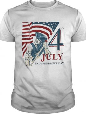 Vintage fourth 4th july independence day american flag shirt
