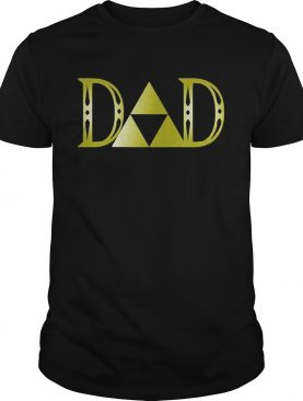 Zelda dad happy fathers day shirt