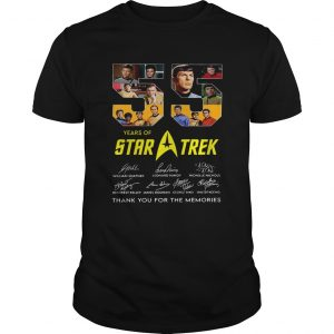 55 Years Of Star Trek Thank You For The Memories  Unisex