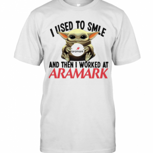 Baby Yoda I Used To Smile And Then I Worked At Aramark T-Shirt Classic Men's T-shirt