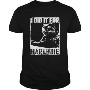 Black Panther I Did It For Harambe  Unisex