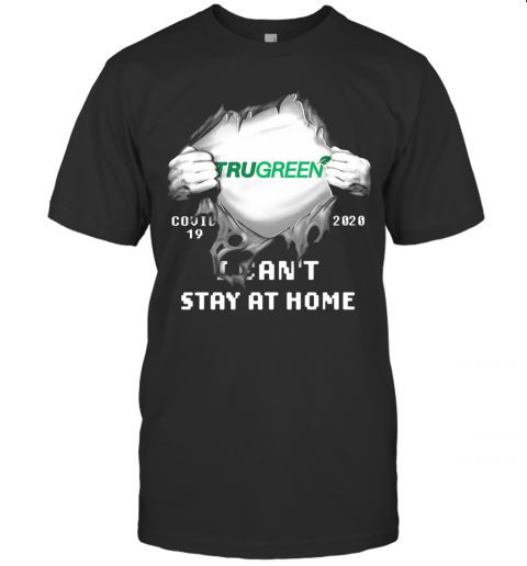 Blood Insides Trugreen Covid 19 2020 I Can'T Stay At Home T-Shirt Classic Men's T-shirt