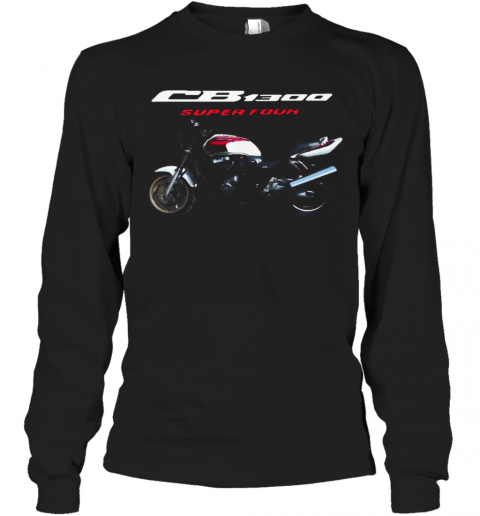 CB 1300 Super Four Motorcycle T-Shirt Long Sleeved T-shirt