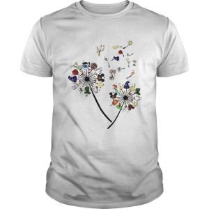 Cartoon Dandelion Flower  Unisex