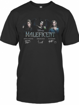 Disney Maleficent Signatures T-Shirt
