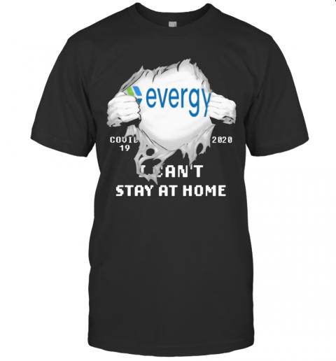 Evergy I Can'T Stay At Home Covid 19 2020 Superman T-Shirt Classic Men's T-shirt