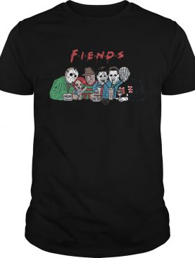 Friends horror character movies shirt