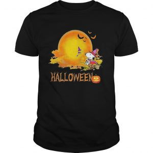 Halloween snoopy and woodstock witch moon  Unisex