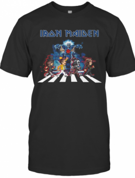 Iron Maiden Band Members Abbey Road T-Shirt