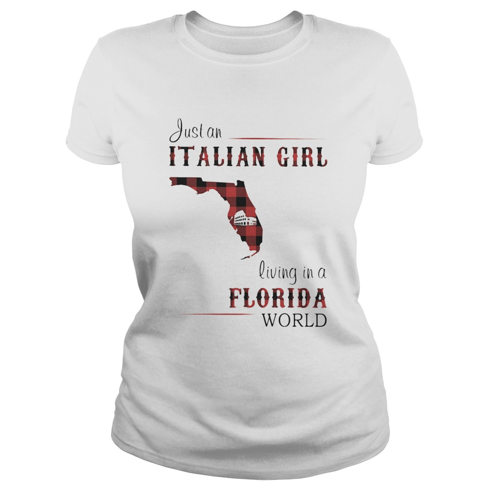Just an Italian girl living in a Florida world Classic Ladies