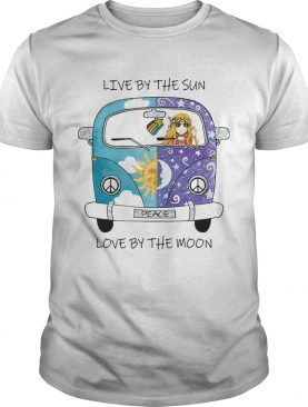 Live By The Sun Love By The Moon Car Girl shirt