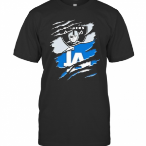 Los Angeles Raiders And Los Angeles Dodgers T-Shirt Classic Men's T-shirt