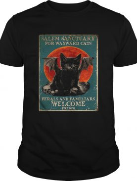 Poster Salem Sanctuary For Wayward Cats Ferals And Familiars Poster shirt