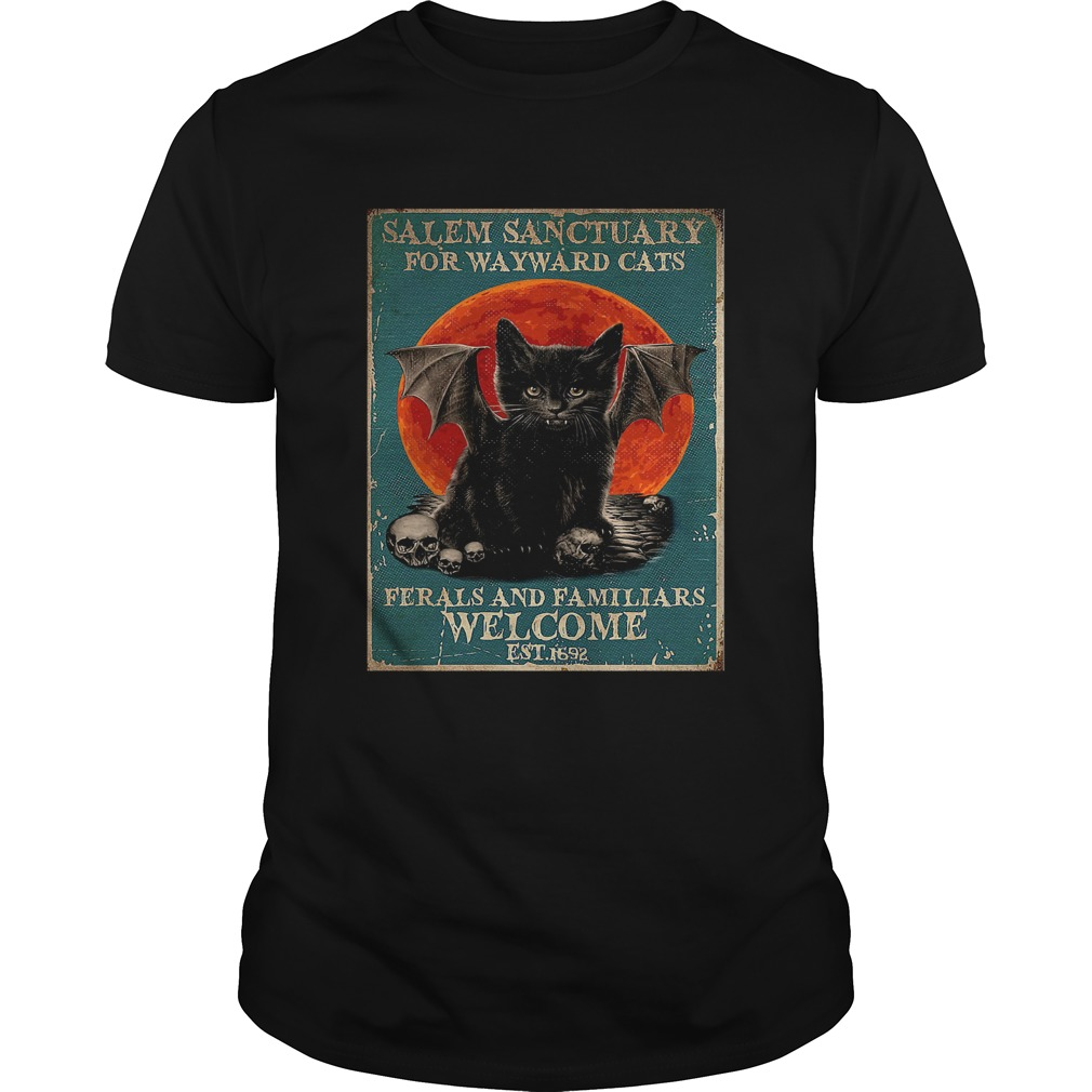 Poster Salem Sanctuary For Wayward Cats Ferals And Familiars Poster Unisex