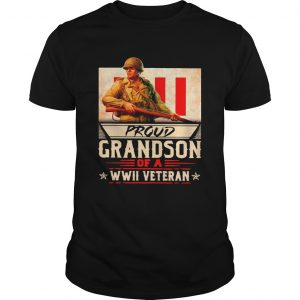 Proud Grandson Of A WWII Veteran  Unisex