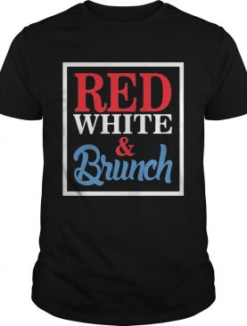 Red White And Brunch Frames shirt