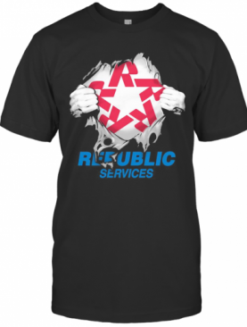 Republic Services Superman T-Shirt