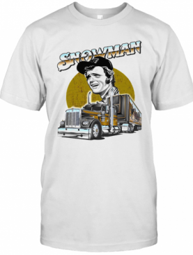 Snow Man Truck T-Shirt