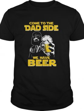 Star wars darth vader come to the dark side we have beer shirt