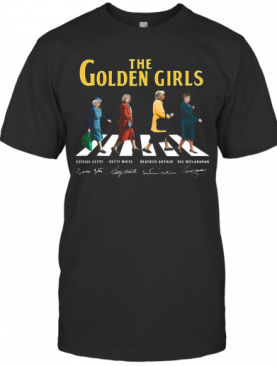 The Golden Girls Abbey Road Signatures T-Shirt