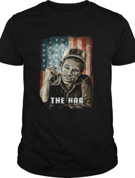 The hag smoking american flag independence day shirt
