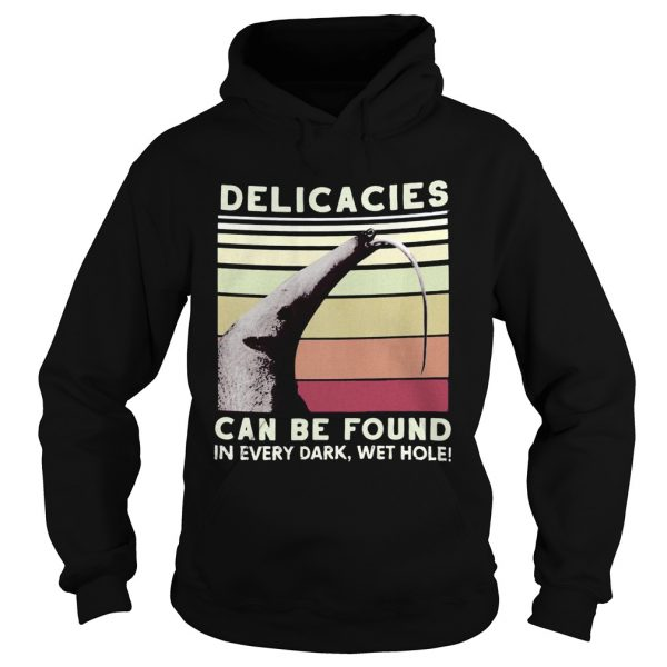 Whale delicacies can be found in every dark wethole vintage retro  Hoodie