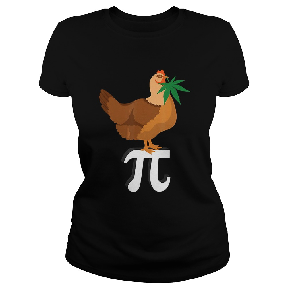 weed chicken pi Classic Ladies