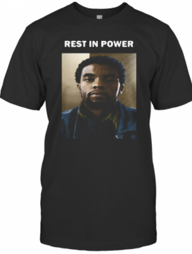 Black Panther Rip Chadwick Boseman Rest In Power S Tank Topblack Panther Rip Chadwick Boseman Rest In Power T-Shirt