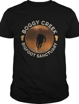 Boggy creek bigfoot sanctuary fouke arkansas 1972 sunset shirt
