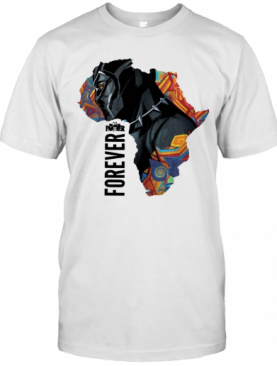 Chadwick Boseman Black Panther Forever Thank You For The Memories T-Shirt