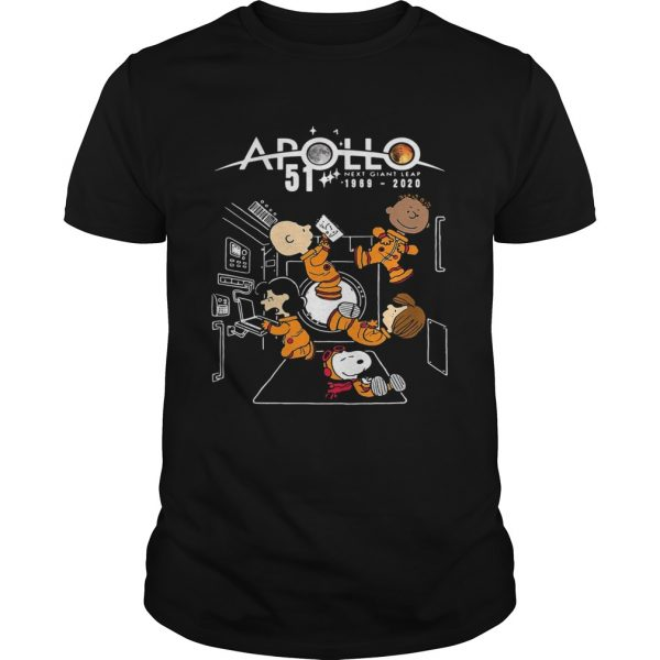 Charlie brown and snoopy apollo 51 next giant leap 1969 2020  Unisex