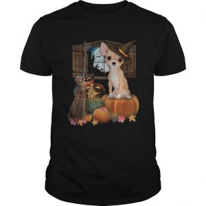 Chihuahua Witch Halloween  Unisex