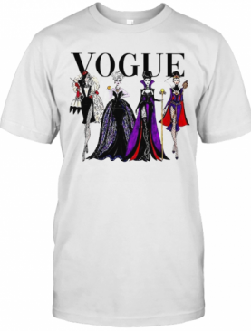 Disney Villains Vogue T-Shirt