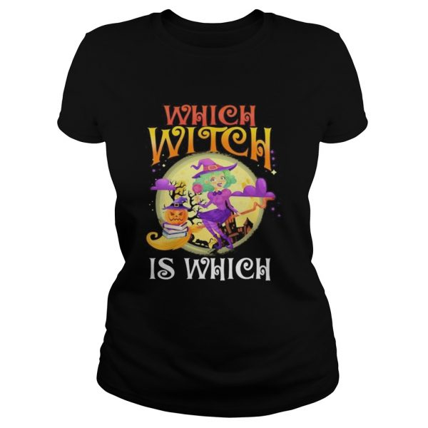 English teacher Which witch is which Halloween  Classic Ladies