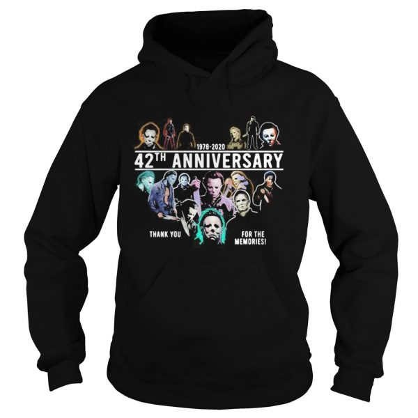 Halloween michael myers 1978 2020 42th anniversary thank you for the memories  Hoodie