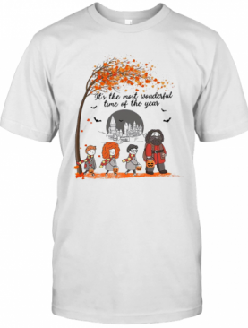 Harry Potter It'S The Most Wonderful Time Of The Year T-Shirt