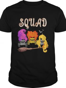 Hocus pocus witch squad truck shirt