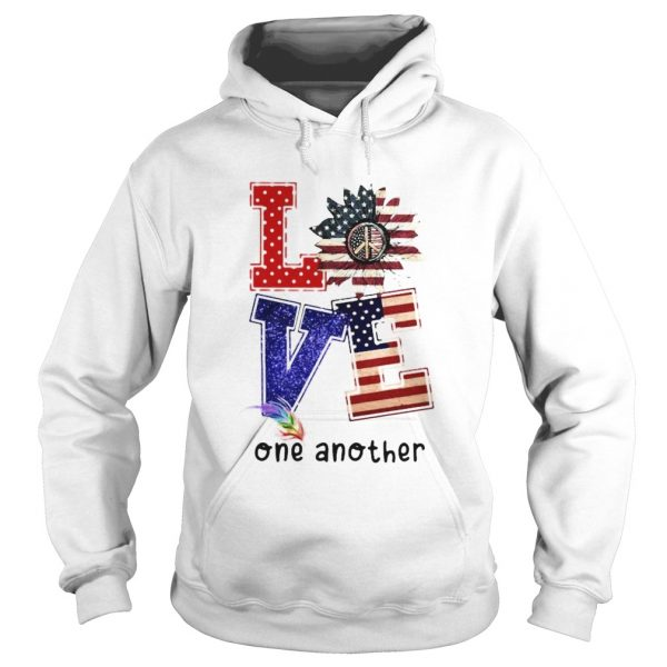 Independence day sunflower love feather one another  Hoodie