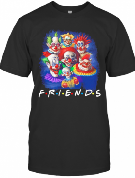 It Peniswise Characters Friends Halloween T-Shirt